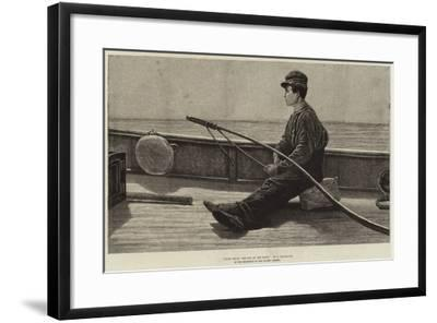 Eight Bells, the Boy at the Helm-Hamilton Macallum-Framed Giclee Print