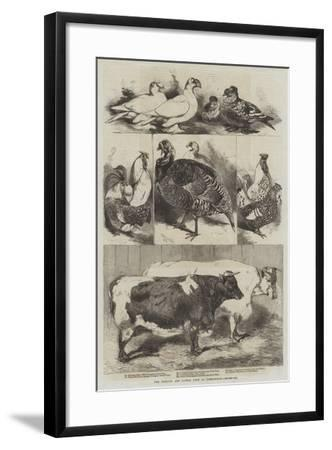 The Poultry and Cattle Show at Birmingham-Harrison William Weir-Framed Giclee Print