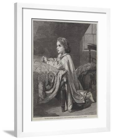 The Child's Prayer-Henry Lejeune-Framed Giclee Print