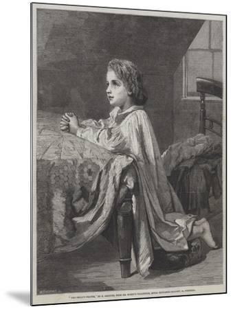The Child's Prayer-Henry Lejeune-Mounted Giclee Print