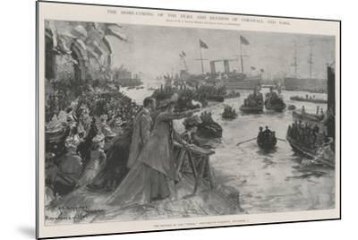 The Home-Coming of the Duke and Duchess of Cornwall and York-Henry Charles Seppings Wright-Mounted Giclee Print