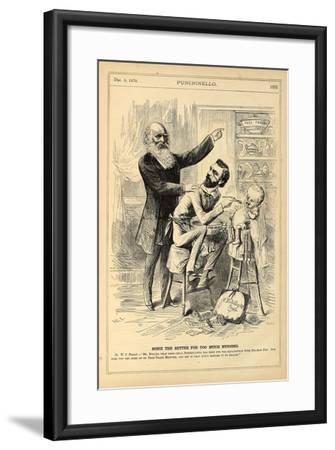 None the Better for Too Much Nursing, 1870-Henry Louis Stephens-Framed Giclee Print