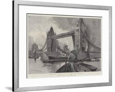 The New Tower Bridge over the Thames, Opened by the Prince of Wales, Saturday, 30 June-Henry Charles Seppings Wright-Framed Giclee Print