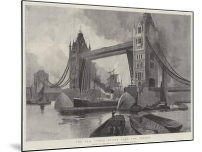The New Tower Bridge over the Thames, Opened by the Prince of Wales, Saturday, 30 June-Henry Charles Seppings Wright-Mounted Giclee Print
