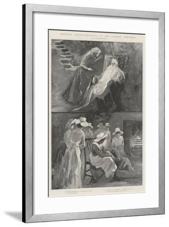 Holiday Entertainments at the London Theatres-Henry Charles Seppings Wright-Framed Giclee Print