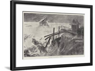 The Wreck of the Chain Pier at Brighton-Henry Charles Seppings Wright-Framed Giclee Print
