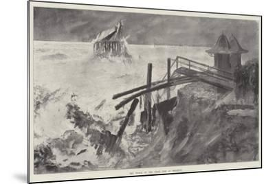 The Wreck of the Chain Pier at Brighton-Henry Charles Seppings Wright-Mounted Giclee Print