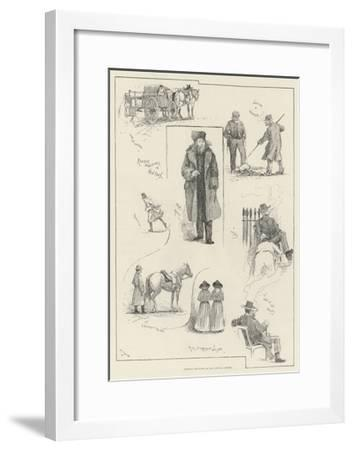America Revisited by Our Special Artist-Henry Charles Seppings Wright-Framed Giclee Print