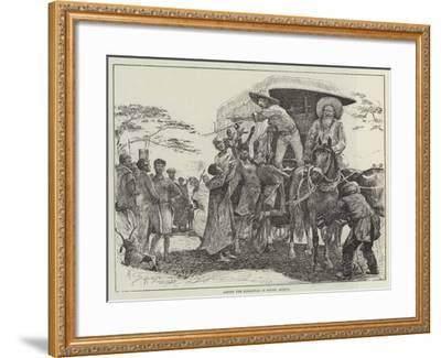 Among the Korannas in South Africa-Henry Charles Seppings Wright-Framed Giclee Print
