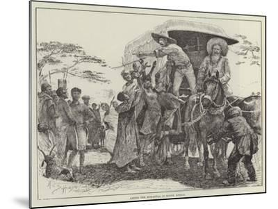 Among the Korannas in South Africa-Henry Charles Seppings Wright-Mounted Giclee Print