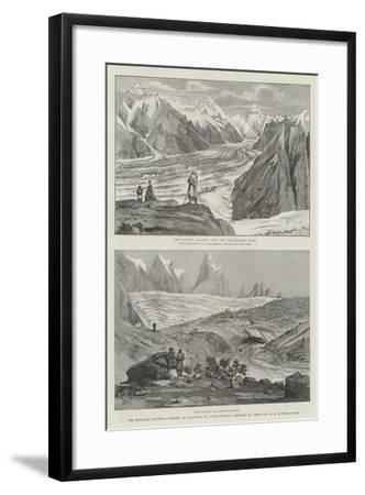 The Himalaya Mountain Scenery of Baltistan, or Little Thibet-Henry Haversham Godwin-Austen-Framed Giclee Print