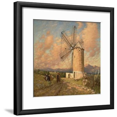 A Spanish Mill-Henry Herbert La Thangue-Framed Giclee Print