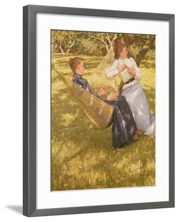 In the Orchard, 1893-Henry Herbert La Thangue-Framed Giclee Print