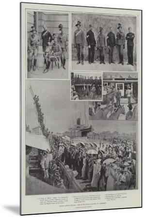 Hands across the Sea, New South Wales Lancers at Aldershot-Henry Charles Seppings Wright-Mounted Giclee Print
