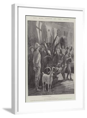 The War, Scenes at the Front-Henry Charles Seppings Wright-Framed Giclee Print