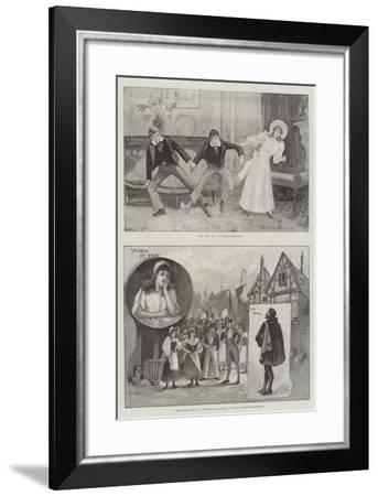 Performing Arts in London-Henry Charles Seppings Wright-Framed Giclee Print