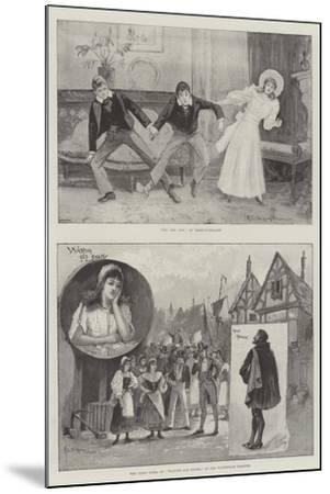 Performing Arts in London-Henry Charles Seppings Wright-Mounted Giclee Print