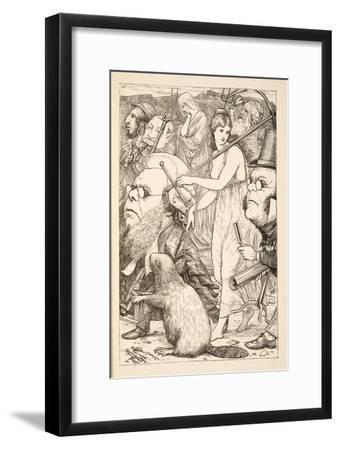 To Pursue it with Forks and Hope'-Henry Holiday-Framed Giclee Print