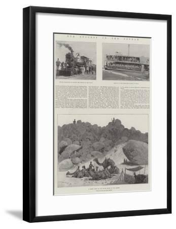 Our Success in the Soudan-Henry Charles Seppings Wright-Framed Giclee Print