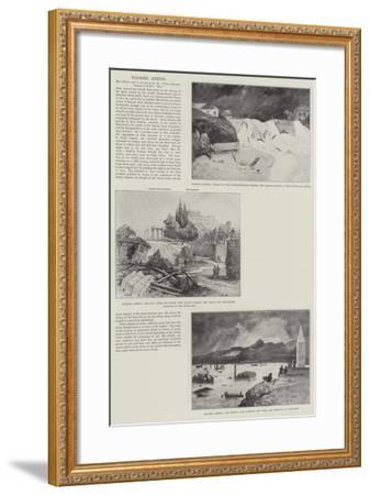 Flooded Athens-Henry Charles Seppings Wright-Framed Giclee Print