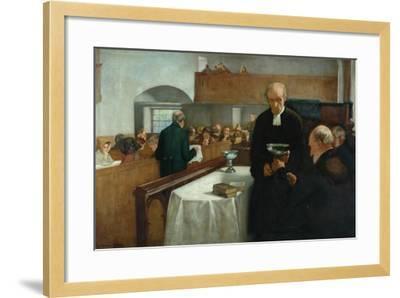 A Scottish Sacrament-Henry John Dobson-Framed Giclee Print