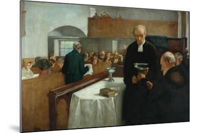 A Scottish Sacrament-Henry John Dobson-Mounted Giclee Print