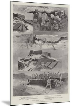 Winter Scenes in North-Western India-Henry Charles Seppings Wright-Mounted Giclee Print