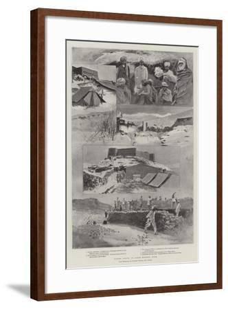 Winter Scenes in North-Western India-Henry Charles Seppings Wright-Framed Giclee Print