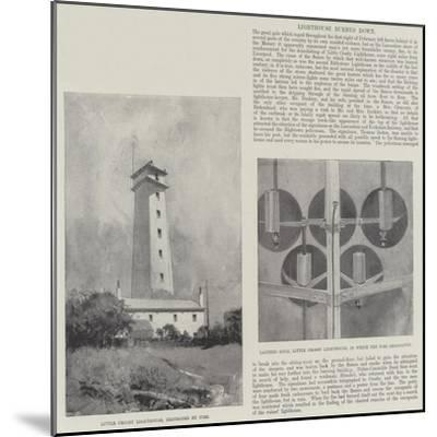 Lighthouse Burned Down-Henry Charles Seppings Wright-Mounted Giclee Print
