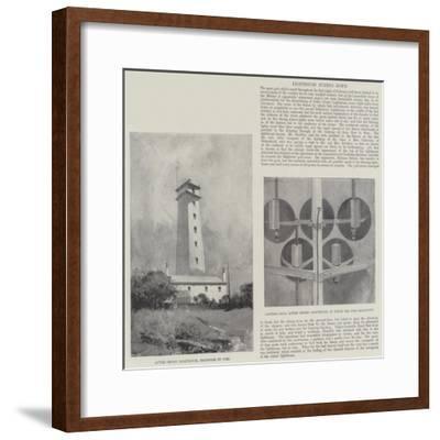 Lighthouse Burned Down-Henry Charles Seppings Wright-Framed Giclee Print