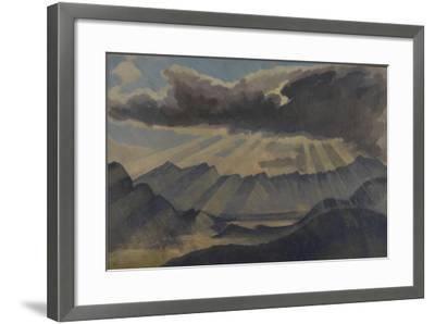 Hohfluh, Switzerland-Henry Clarence Whaite-Framed Giclee Print
