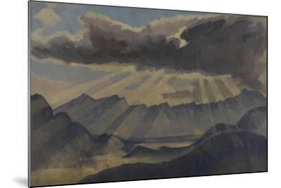 Hohfluh, Switzerland-Henry Clarence Whaite-Mounted Giclee Print