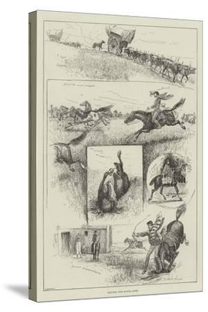 Sketches from Buenos Ayres-Henry Charles Seppings Wright-Stretched Canvas Print