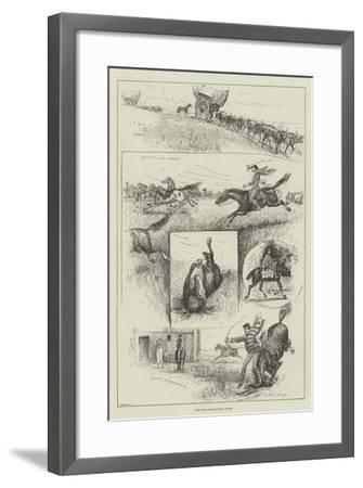 Sketches from Buenos Ayres-Henry Charles Seppings Wright-Framed Giclee Print