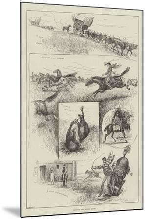 Sketches from Buenos Ayres-Henry Charles Seppings Wright-Mounted Giclee Print