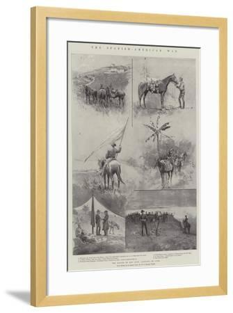 The Spanish-American War, the Battle of San Juan, Santiago De Cuba-Henry Charles Seppings Wright-Framed Giclee Print