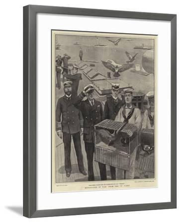 Messengers of War from the B Fleet-Henry Marriott Paget-Framed Giclee Print