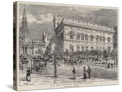 The New National Portrait Gallery-Henry William Brewer-Stretched Canvas Print