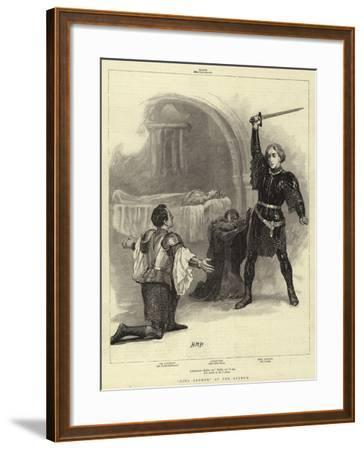 King Arthur at the Lyceum-Henry Marriott Paget-Framed Giclee Print