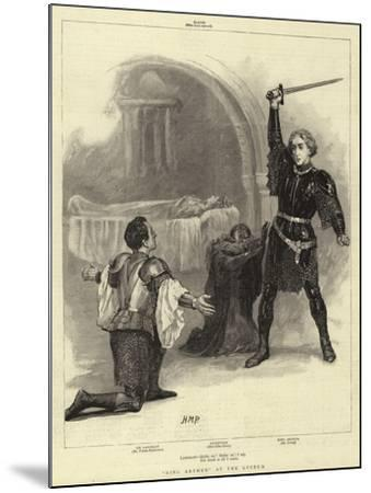 King Arthur at the Lyceum-Henry Marriott Paget-Mounted Giclee Print