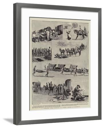 A Yeomanry Field Hospital in Action, Scenes at Roodeval-Henry Marriott Paget-Framed Giclee Print
