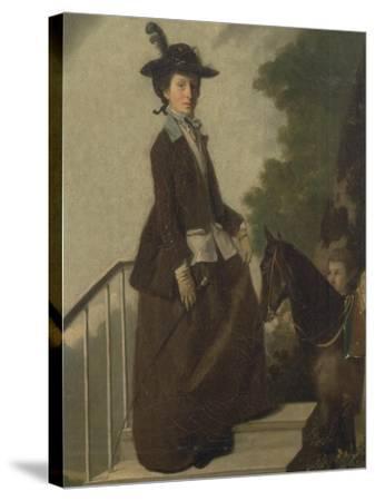 Mrs. Edward Bridgeman-Henry Walton-Stretched Canvas Print