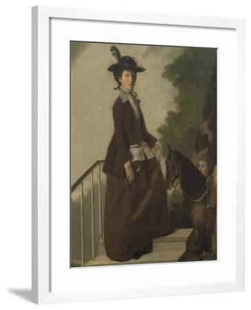 Mrs. Edward Bridgeman-Henry Walton-Framed Giclee Print