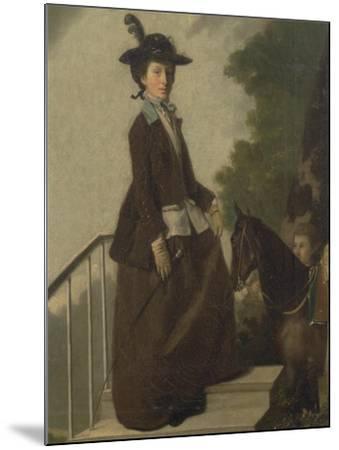 Mrs. Edward Bridgeman-Henry Walton-Mounted Giclee Print