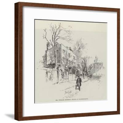 Mr William Morris's House at Hammersmith-Herbert Railton-Framed Giclee Print