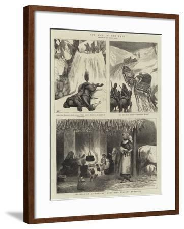 The War in the East-Henry Marriott Paget-Framed Giclee Print