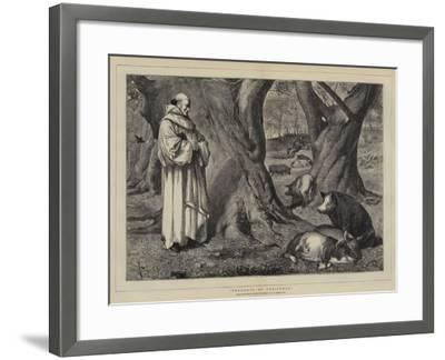 Thoughts of Christmas-Henry Stacey Marks-Framed Giclee Print