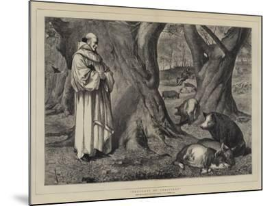 Thoughts of Christmas-Henry Stacey Marks-Mounted Giclee Print