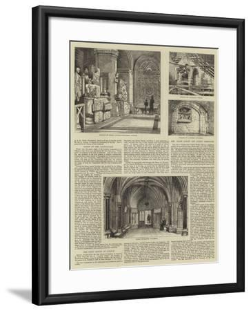 The Corporation of London-Henry William Brewer-Framed Giclee Print