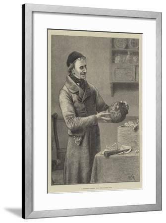 A Christmas Present-Henry Stacey Marks-Framed Giclee Print